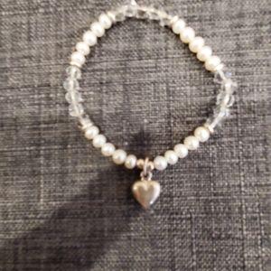 Silpada pre-teen heart bracelet